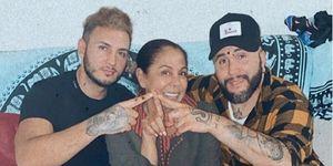 Omar Montes, Isabel Pantoja y Kiko Rivera celebran Navidad en Cantora