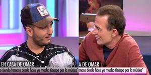 Omar Montes y Alessandro Lequio