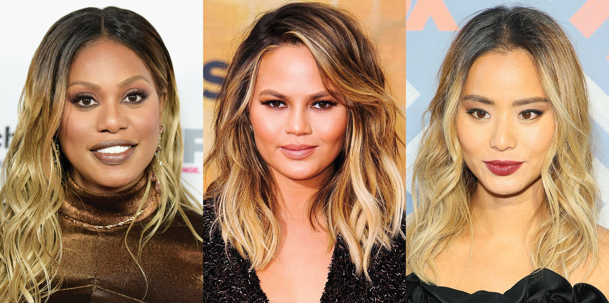 best ombre hair color ideas 2017 25 celebrities with