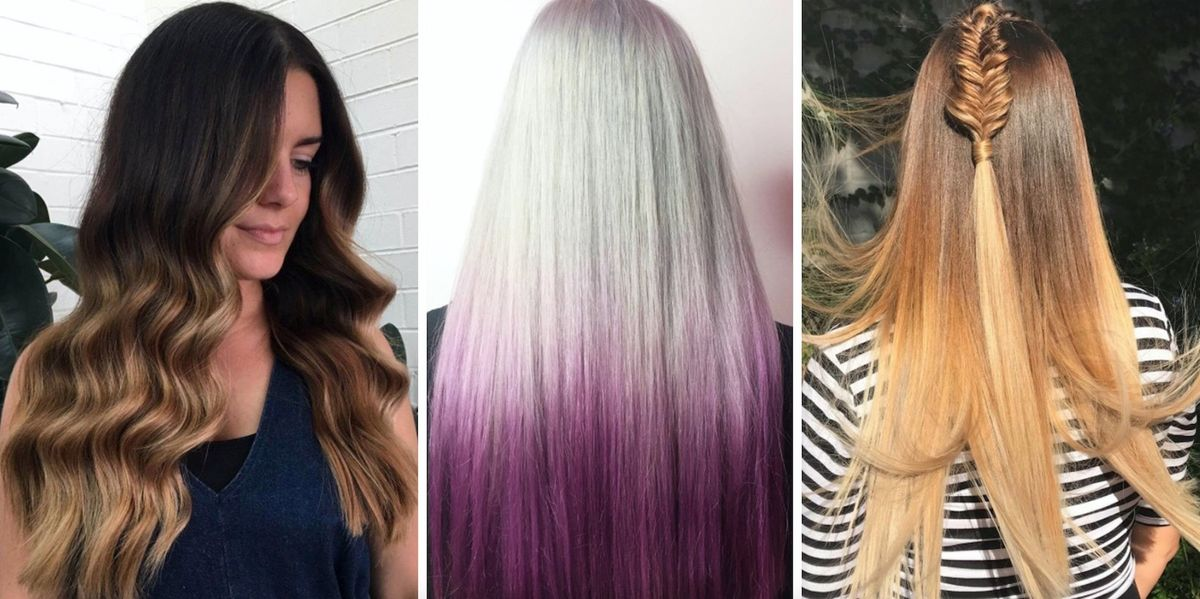 Ombre Hair Style: Ombre Hair Colours For 2018