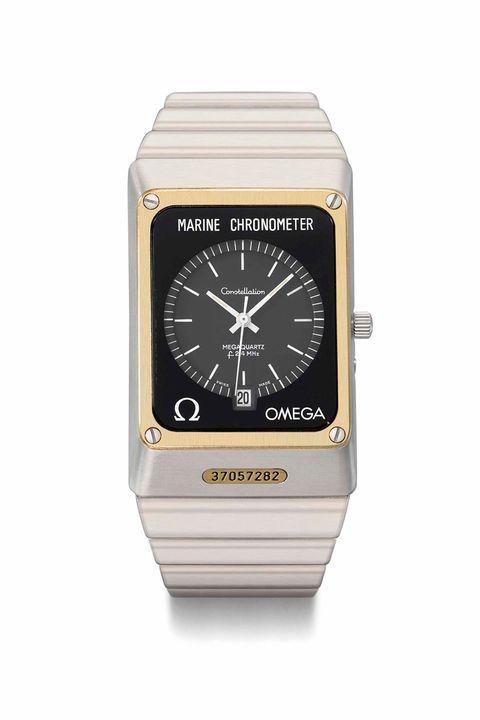 Omega Megaquartz Marine Chronometer