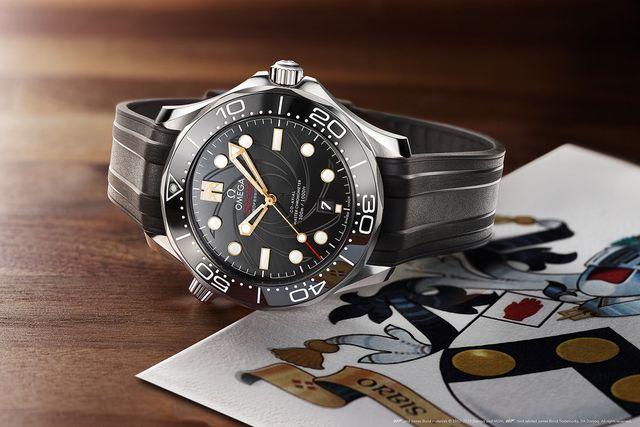 """Omega Seamaster 300M Diver """"On Her Majesty's Secret Service"""""""