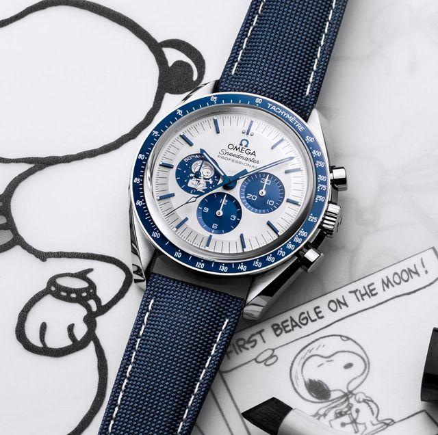 "speedmaster moonwatch ""silver snoopy award"" 50th anniversary"