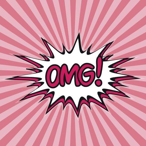 Pink, Text, Line, Font, Illustration, Magenta, Design, Pattern, Logo, Graphic design,