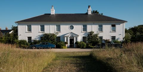 Property, House, Home, Estate, Farmhouse, Building, Real estate, Cottage, Sky, Land lot,