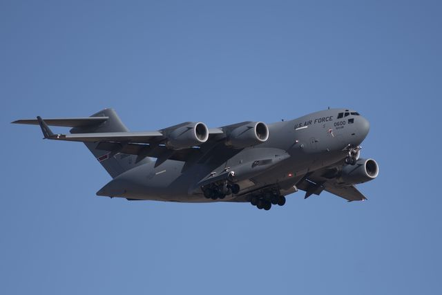 green flag air to ground military exercise underway at nellis air force base