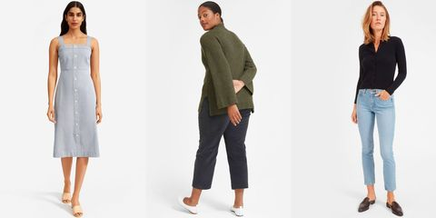 Clothing, Jeans, Shoulder, Denim, Standing, Footwear, Fashion, Fashion model, Waist, Dress,