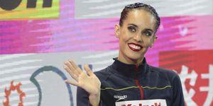 Ona Carbonell en el mundial de natación deCorea del Sur.