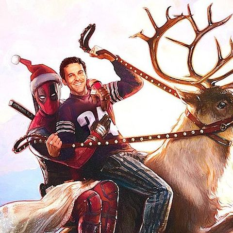funny christmas movies   once upon a deadpool