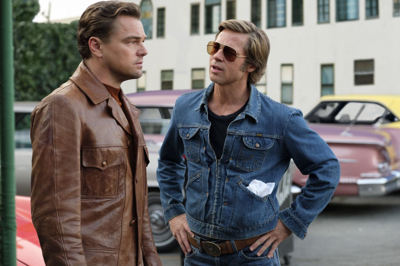 Once Upon a Time in Hollywood's Brad Pitt talks working with Leonardo DiCaprio for the first time
