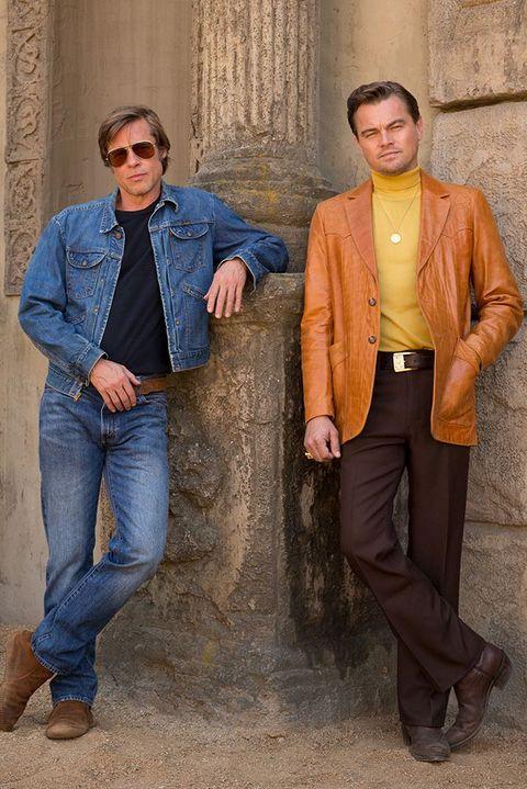 Brad Pitt y Leonardo DiCaprio en 'Érase una vez... en Hollywood'