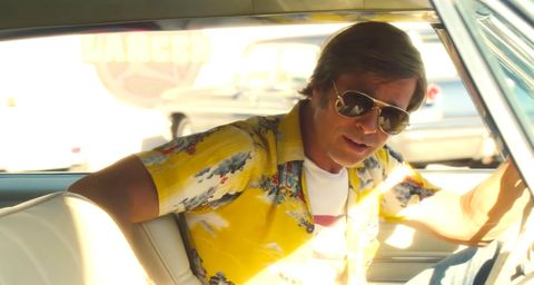 Once Upon a Time in Hollywood: Brad Pitt