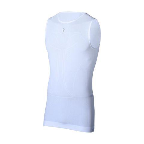 bbb coollayer ondershirt mouwloos zonder mouwen wit shirt