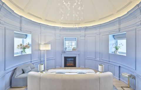 Ceiling, White, Room, Interior design, Property, Building, Lighting, Furniture, Wall, Architecture,
