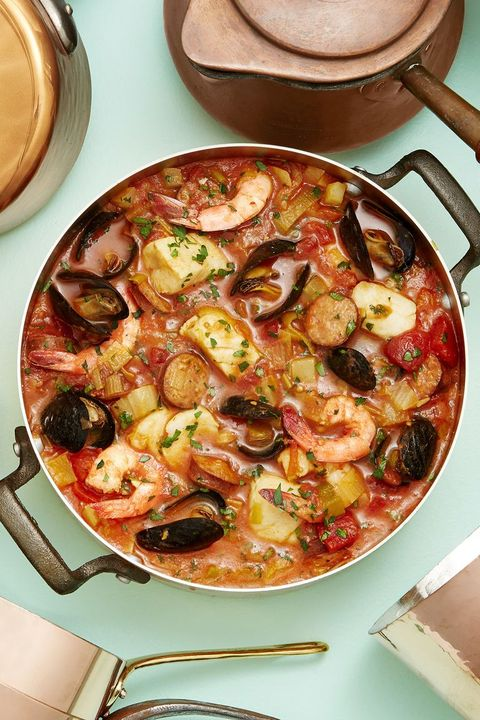 one dish meals seafood