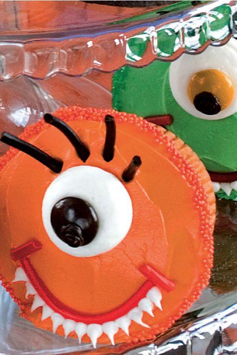 One-Eyed Monster Cupcake