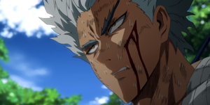 One Punch man 2x10 critica garou saitama