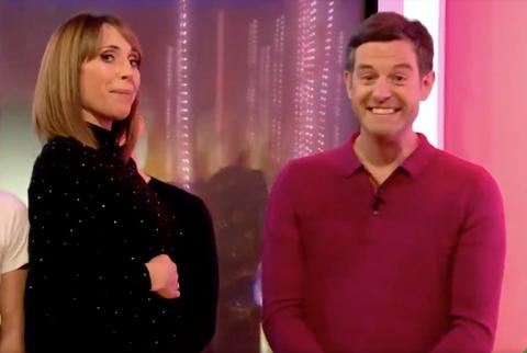 The One Show's Alex Jones announces pregnancy, alongside Matt Baker