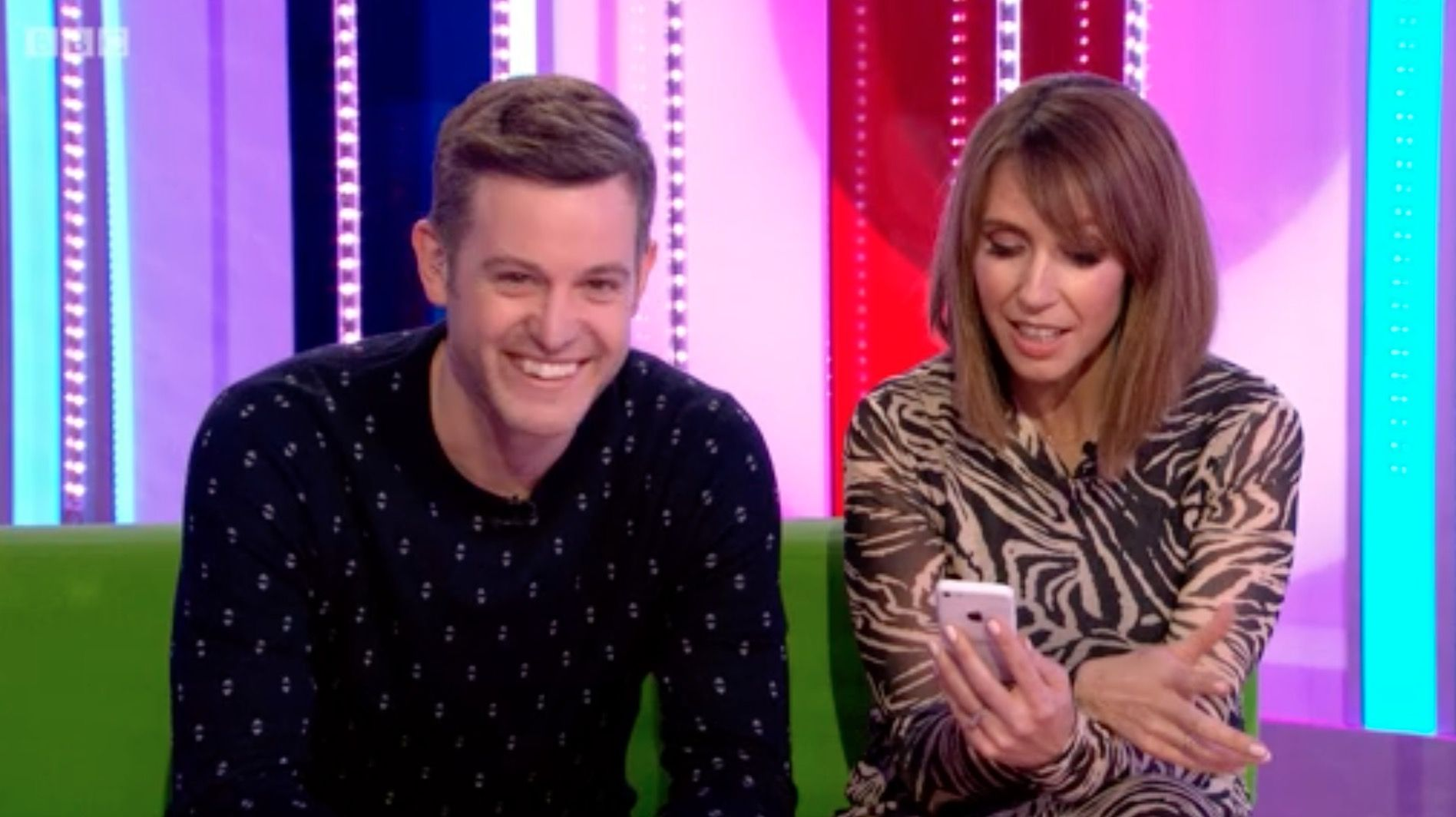 The One Show viewers do a double take after spotting naughty word pre-watershed