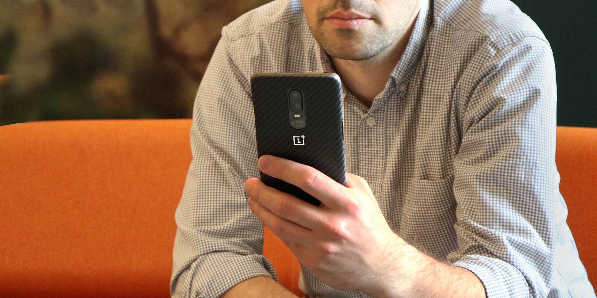 OnePlus 6 promo