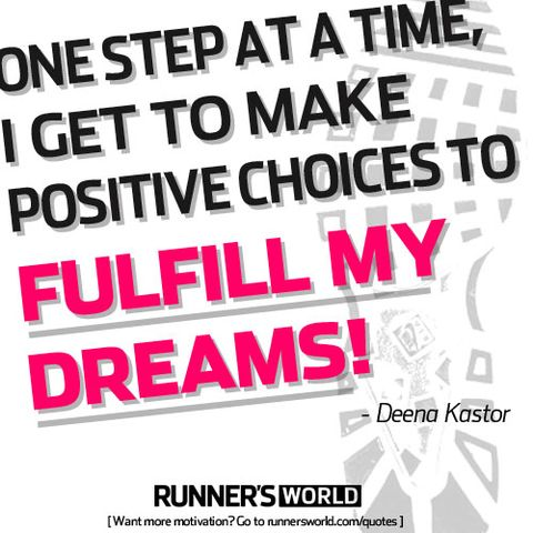 One Step At A Time Runners World