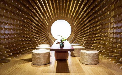 ONE Teahouse, de MINAX Architects. Fotos: Zhigang Lu
