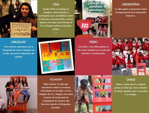 La silla roja: Entreculturas