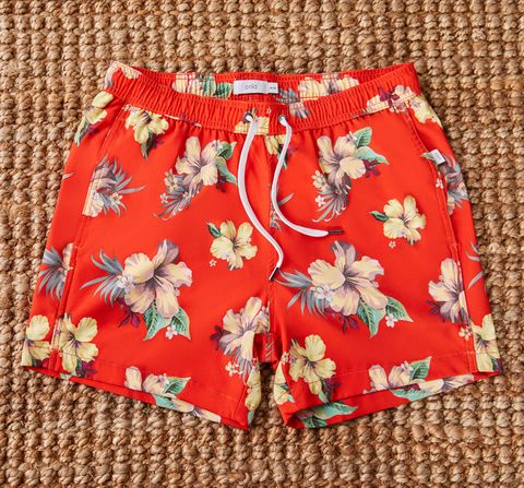 Clothing, Shorts, Red, Active shorts, Trunks, Textile, board short, Pattern, Pattern,