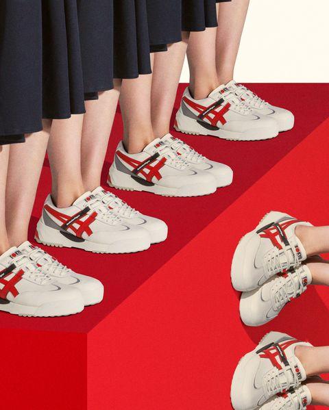 2021奧運正式啟動!鬼塚虎delegation ex復刻1964年的日本代表隊進場鞋