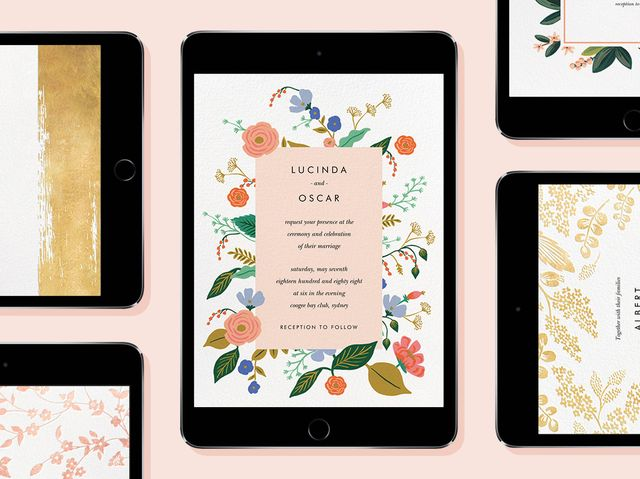 the 4 best websites to get online wedding invitations cute online