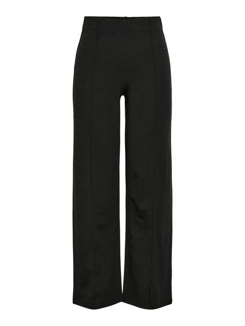 only pantalon zwart wijd