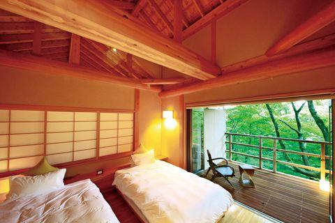温泉山荘 だいこんの花 客室