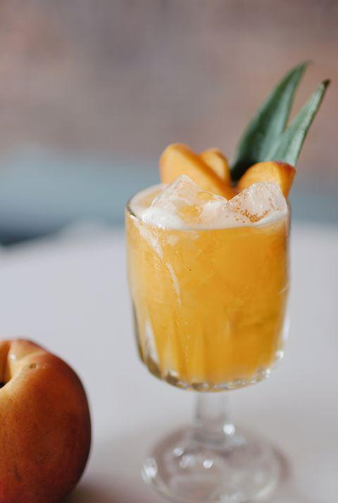 Drink, Food, Alcoholic beverage, Ingredient, Distilled beverage, Liqueur, Beer cocktail, Cuisine, Non-alcoholic beverage, Pumpkin,