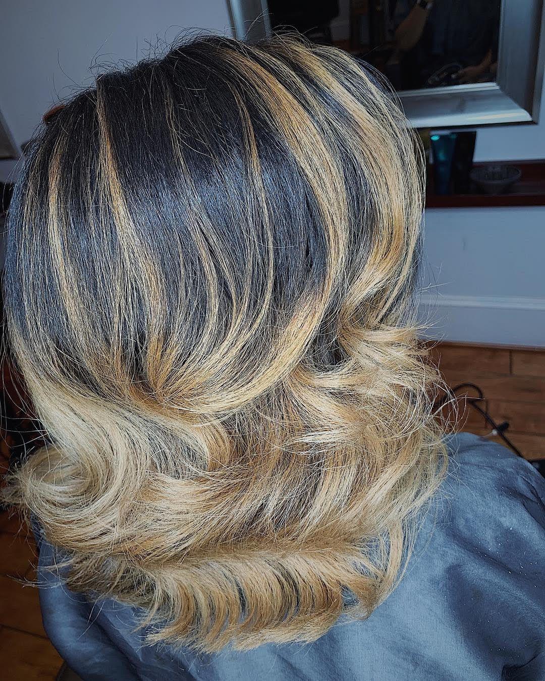 18 Black Balayage Hair Ideas You'll Love   Black Balayage Hairstyles