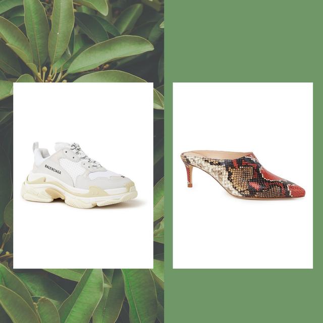 Footwear, Shoe, Green, Sneakers, Brand, Font, Adaptation, Outdoor shoe, Plant, Athletic shoe,