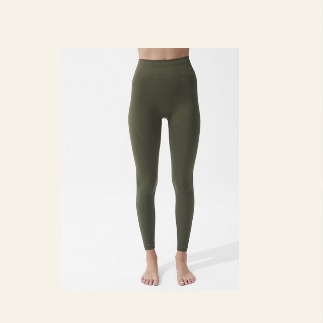 Clothing, Tights, Waist, Leggings, Green, Leg, Active pants, Trousers, Jeans, Sportswear,