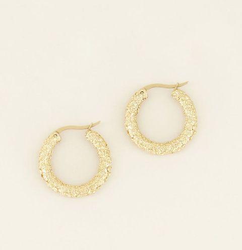 oorringen bloemen my jewellery