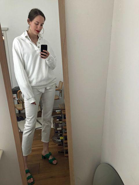 ELLE's OOTd, shop de look, wit op wit