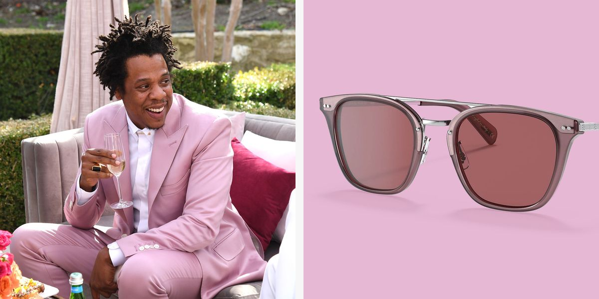 Mauve Sunglasses Inspired by a Jay-Z Meme
