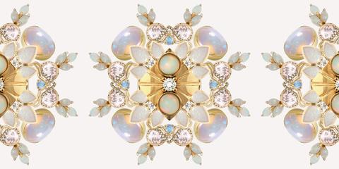 449dee1d1 35 Beautiful Opal Engagement Rings - Unique Opal Engagement Rings ...