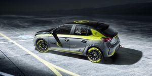 Opel Corsa rallye electrico