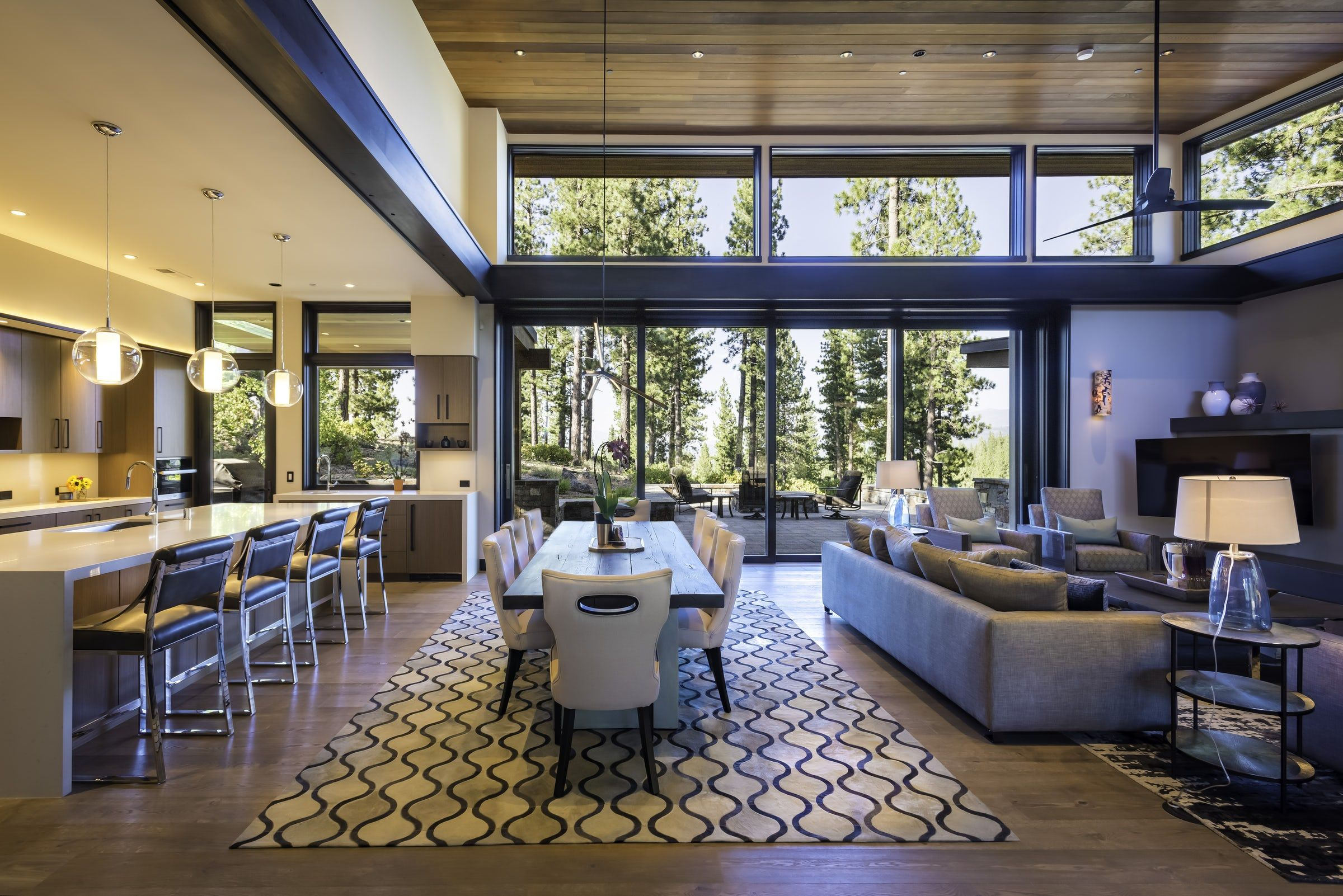 30+ Gorgeous Open Floor Plan Ideas - How to Design Open-Concept Spaces
