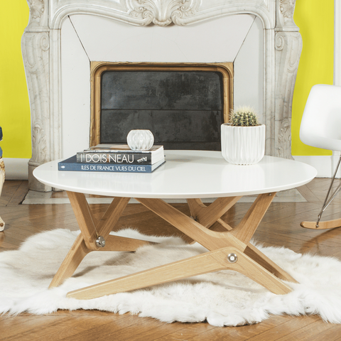 Boulon Blanc S Convertible Table Is The Piece Of Transforming Furniture Your Home Needs