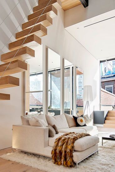 20 Striking Open Stairs Modern Open Staircase Design Ideas