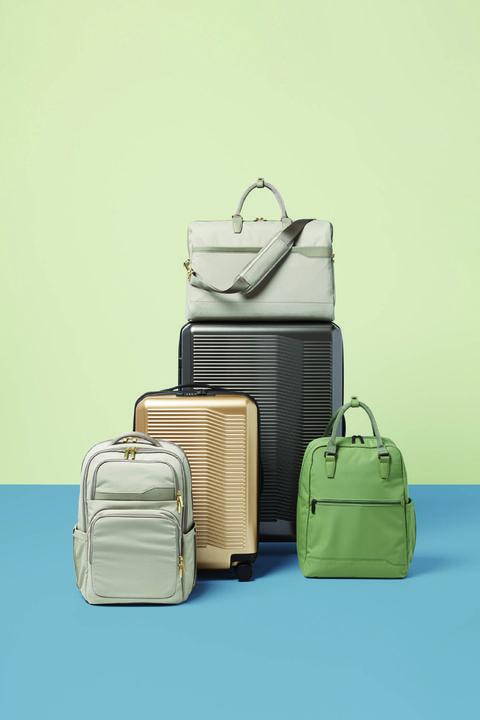 Bag, Hand luggage, Baggage, Suitcase, Handbag, Luggage and bags, Fashion accessory, Beige, Travel, Illustration,