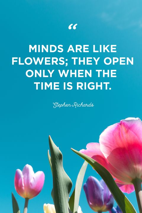 flower quotes time