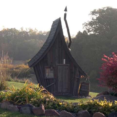 You can have your own fairy tale cabins by the Rustic Way.