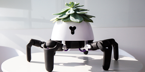 The Hexa Robot Planter by Vincross Takes Care of Your Plant For You