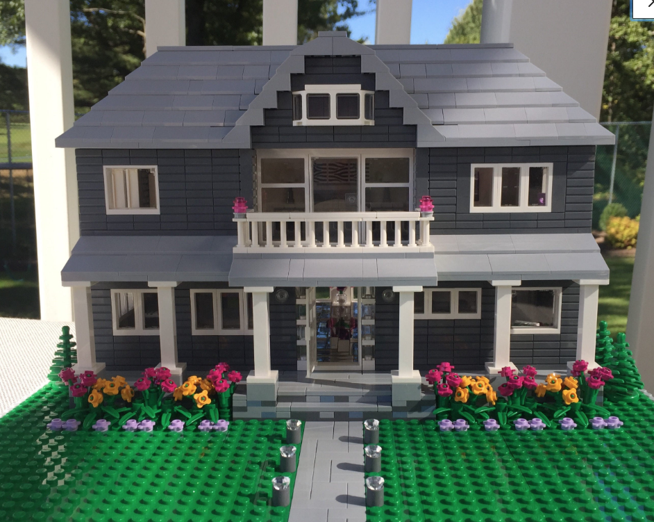 You Can Get a Lego Replica of Your Own House!