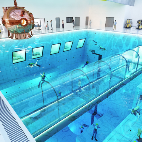Deepspot to Become the World's Deepest Pool